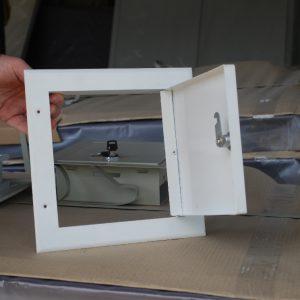 люк металлический однолистовой